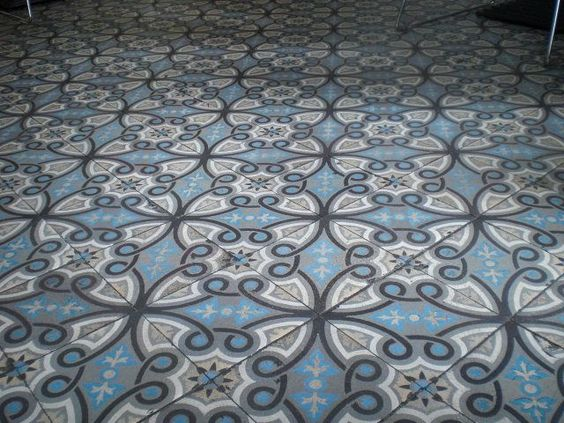 Portugese tegels in huis maison belle floor vloeren pinterest belle design and tile - Tegels wc design ...