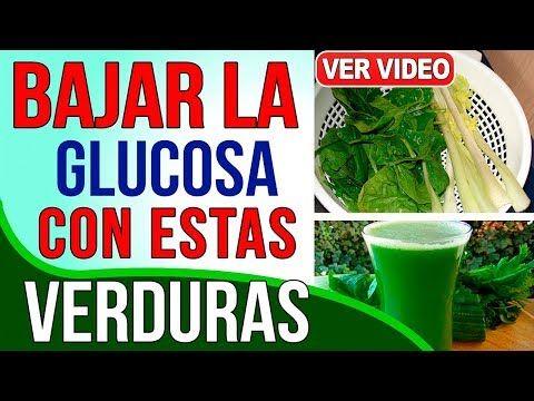 dieta para bajar la glucemia alta