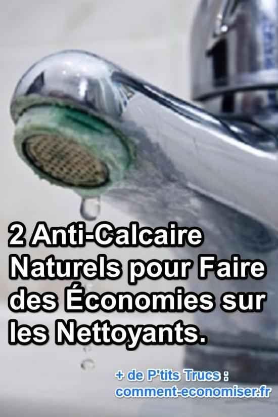 2 Anti Calcaire Naturels Pour Faire Des Economies Sur Les