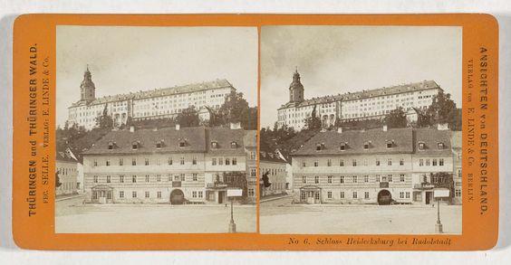 H. Selle & E. Linde & Co | Schloss Heidecksburg bei Rudolstadt, H. Selle & E. Linde & Co, H. Selle, 1860 - 1890 |