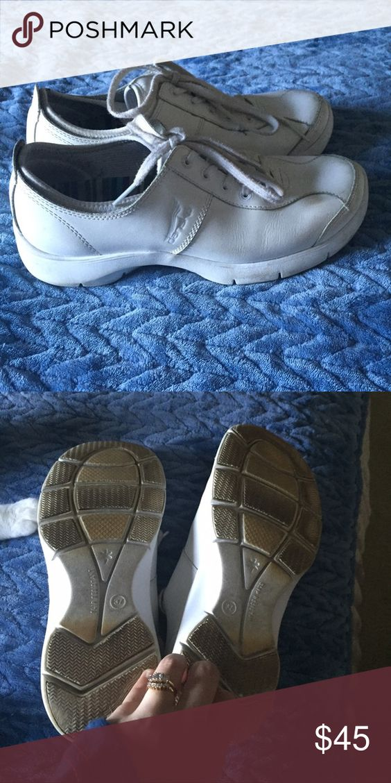 Pure white Danskos Size 7, worn for clinical. Outside perfect condition, only wear is on bottom from the ground. I can clean the bottom before shipping. These were $105+ custom ordered. Dansko Shoes Sneakers