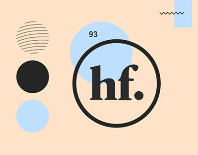 """Check out new work on my @Behance portfolio: """"hf. branding - Personal Identity"""" http://be.net/gallery/40729271/hf-branding-Personal-Identity"""