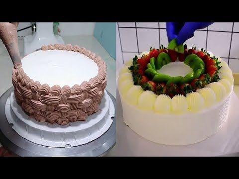 لكل ربة بيت تريد تعلم تزيين الكيك والتورتة اليك اجمل الافكار Youtube Kapkejki Tort Ukrashenie Tortov