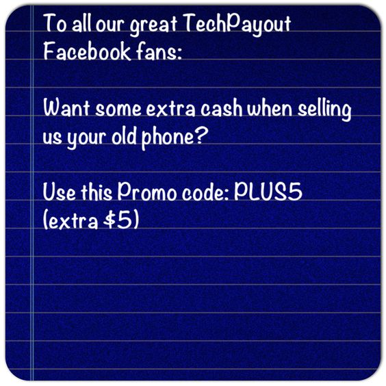 Like $$$? Here's an extra 5.00 when you sell TechPayout an item. Thanks!