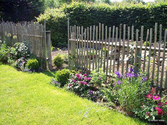 Gartenzaun Holz Bauerngarten ~ Pinterest • ein Katalog unendlich vieler Ideen