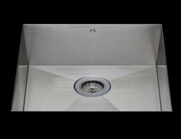 "31"" Flatiron Undermount/Topmount Stainless Steel Kitchen Sink"