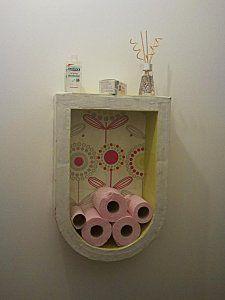 Meuble stock papier wc mettre une image dans le fond - Meuble rangement papier toilette ...