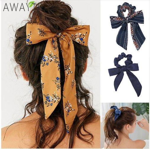 Mode Frauen Haar Seile Blumen Elastische Band Mädchen Pferdeschwanz Haar Zusätze
