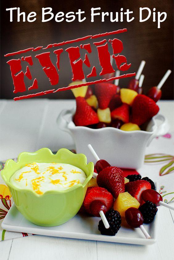 best fruit dip ever! :)
