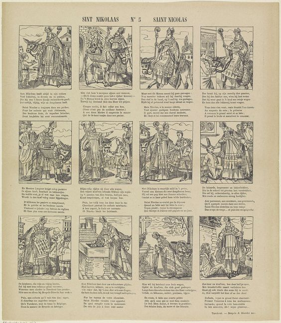 Sint nikolaas saint nicolas brepols sinterklaas centsprenten pinterest saints - Nicolas kleine architect ...
