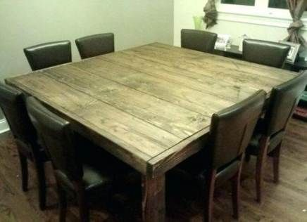 40 Ideas For Farmhouse Dining Table 8 Person Square Wood Dining Tables Wood Dining Table Rustic Square Dining Tables