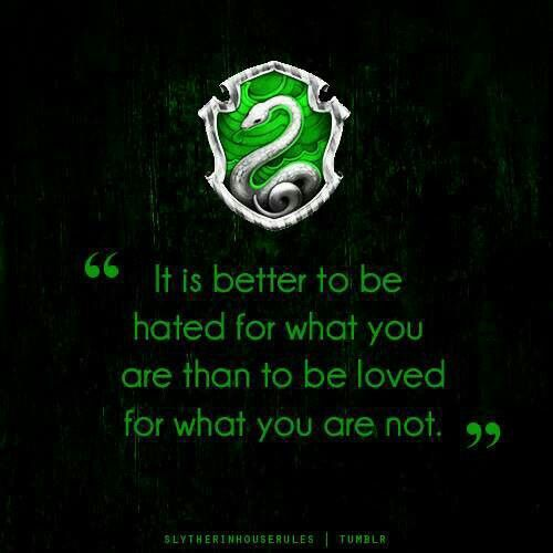 Cathy does not see a reason to change her ways since they always brought her benefits. She is also cunning like a Slytherin.