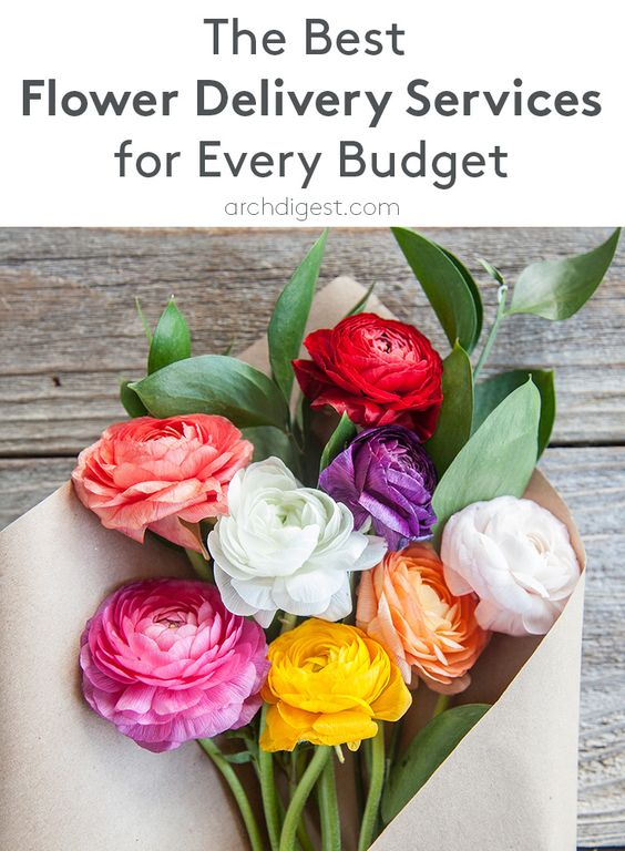 The Best Flower Delivery Services for Every Budget