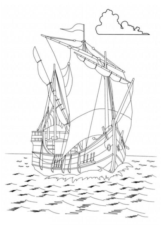 Schiffe 1 Ausmalen Schiff Kostenlose Malvorlagen