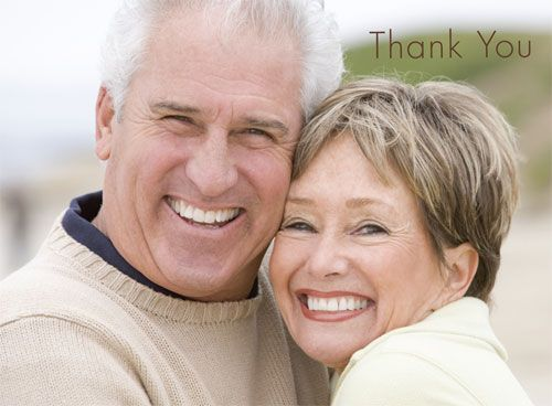 """Personalized Photo Note/Thank You Cards  4 3/4"""" x3 1/2"""", folded  Outside & Inside printing  Envelopes Included   $63.00 for 25"""