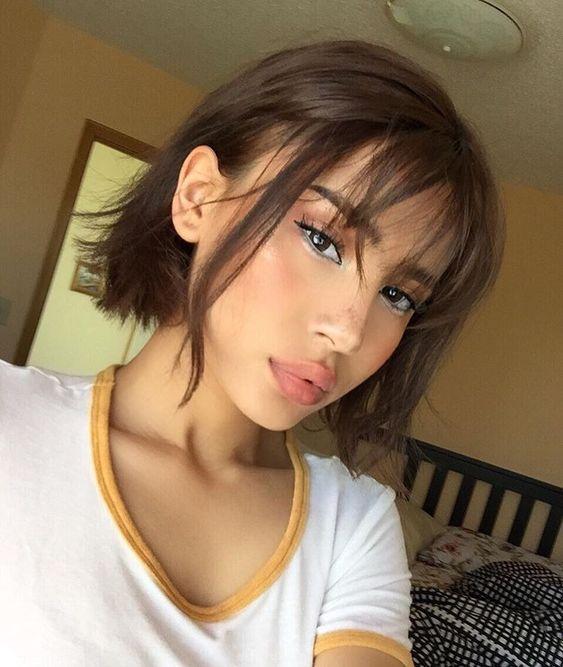 Instagram photo by @aeoyu • fringe short hair styles to try in 2020 | soyvirgo.com