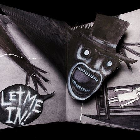 Ah world book day! Here's one for the kids. #babadook #lightreading #kidsneedtoread #worldbookday