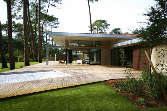 Architecture contemporaine hossegor landes atelier luc for Architecture contemporaine