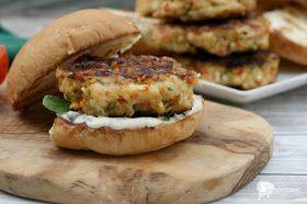 girlichef: Grilled Shrimp Burgers