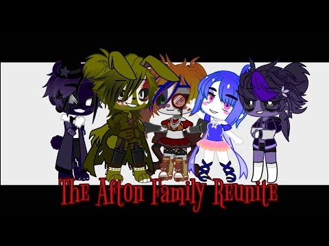 Afton Family Reunite Part 2 Short Gacha Club Mini Series Read Description Youtube In 2020 Afton Comic Book Cover Anime