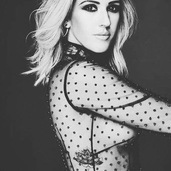 Ellie Goulding in UK Glamour magazine Fall 2015
