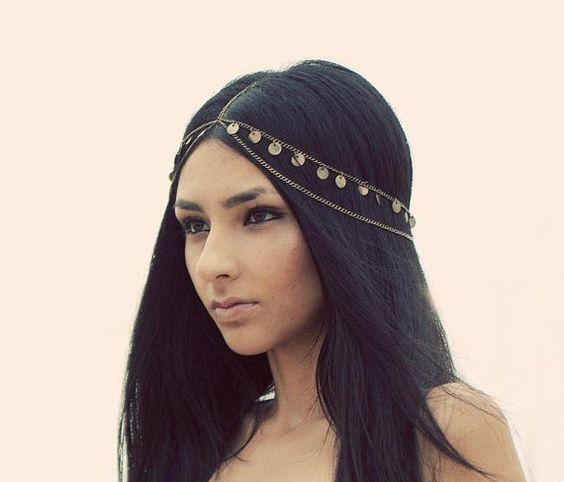 gypsy princess head chain