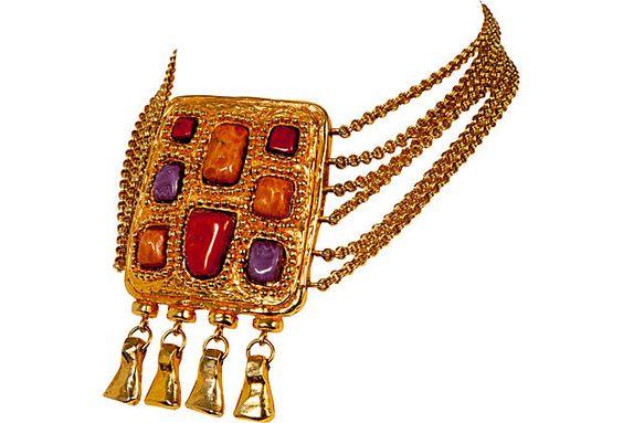 Christian Lacroix Pendant  Necklace on OneKingsLane.com   $1,495.00