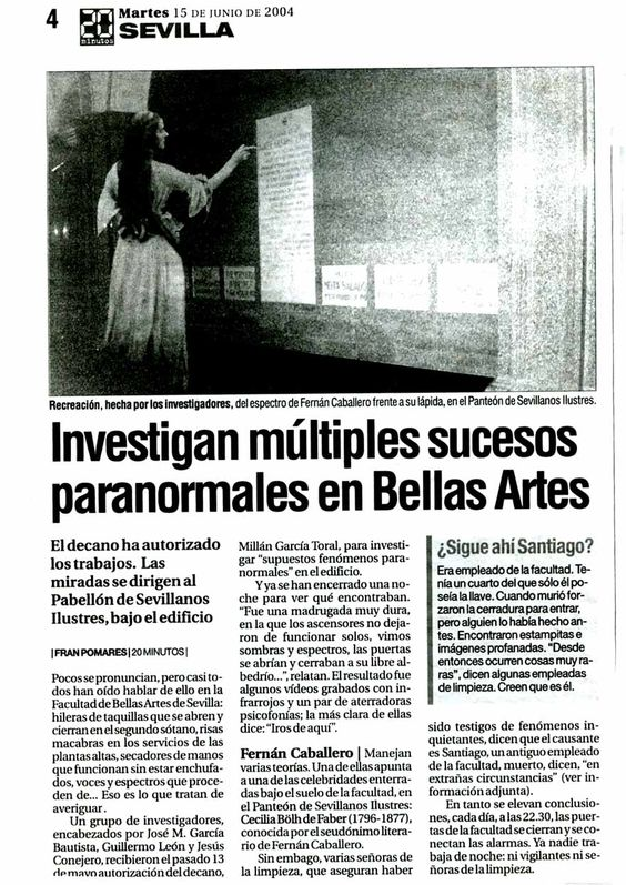 El misterio de la Facultad de Bellas Artes de Sevilla...... 406d7cfcb3c65bbb5fe06741368c0965