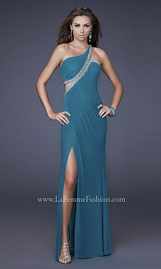 Elegant Long One Shoulder $378