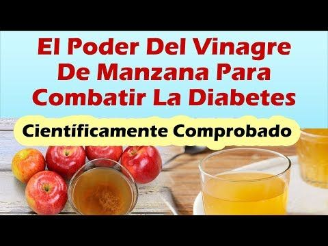 diabetes vinagre de sidra