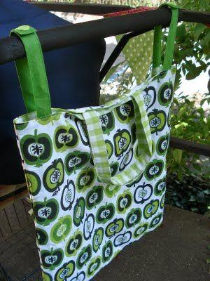 Stroller bag!  Great idea!