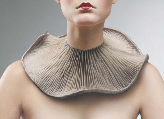 Mushroom necklace - @ Harvey Nichols #contemporary #jewelry