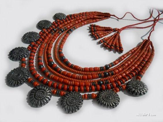 Керамiчне намисто - Розпутняк Любов Купити виріб Керамiчне намисто,продажа виробу,доставка
