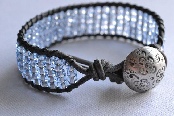 Beachy boho cuff bracelet