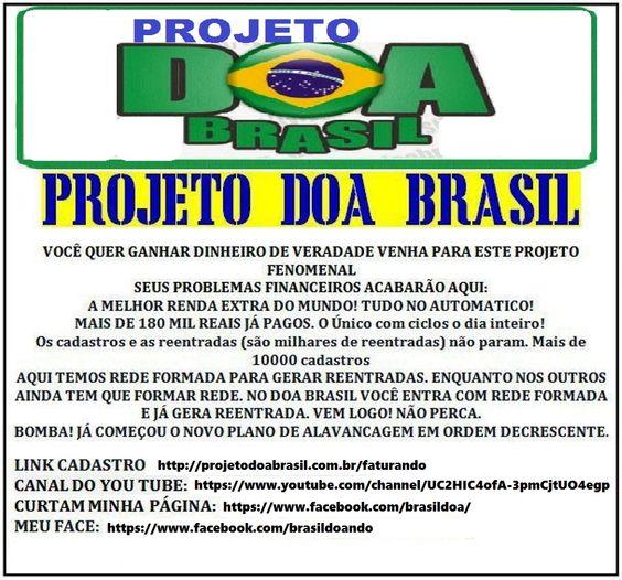 Projeto Doa Brasil - Realizando Sonhos