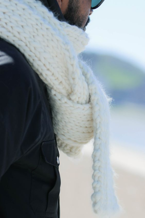 Handknitted softest scarf Handmade knitwear, wool, men, women, kids