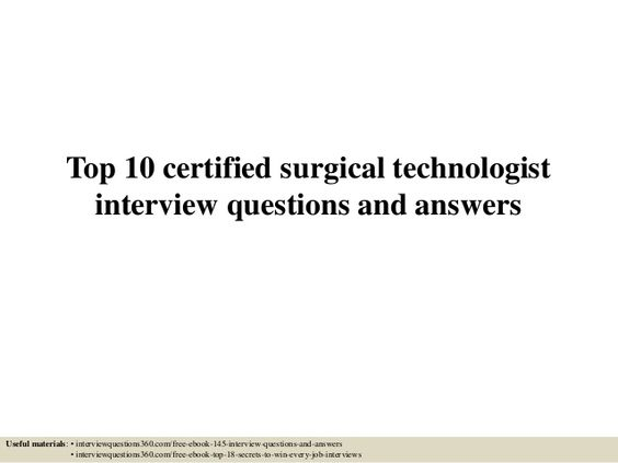 So you pass sponges right? A blog post about the duties of a - surgical technologist resume