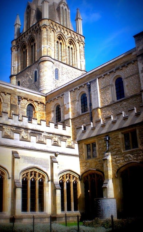 Anderswohin Oxford Bei Harry Potter In Hogwarts Filmlocation Christ College Http Www Anderswohin De 2014 07 Naturlich Christ Oxford City Oxford Hogwarts