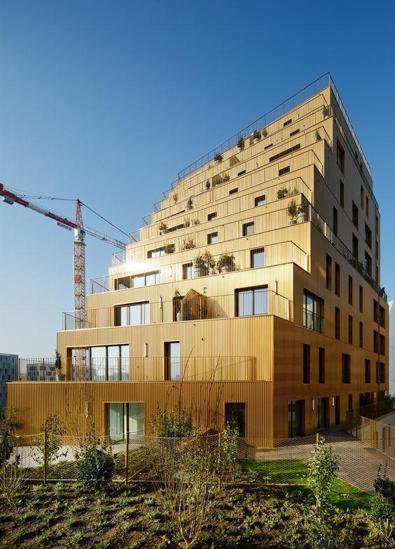 Wohnhochhaus in Paris / Zurück zu alter Größe - Architektur und Architekten - News / Meldungen / Nachrichten - BauNetz.de