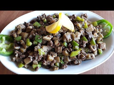 طريقة عمل منسفة الباذنجان الشامية ـ عشى سريع Youtube Syrian Food Food Beef