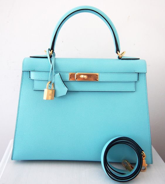 hermes kelly wallet clutch blue atoll ghillies swift palladium hardware