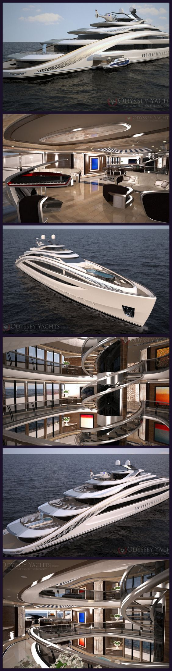 Odyssey Yachts announce release of 95m Yacht 'Nautilus' project!  A bit much - but go big or go home eh?