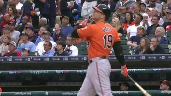 MLB Gamecast - Orioles vs Tigers.  Orioles 11 - Detroit 3