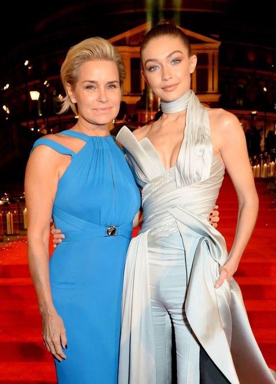 Yolanda Hadid and Gigi Hadid: