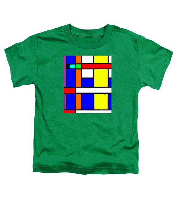 Toddler T-Shirt - Geometric 9706