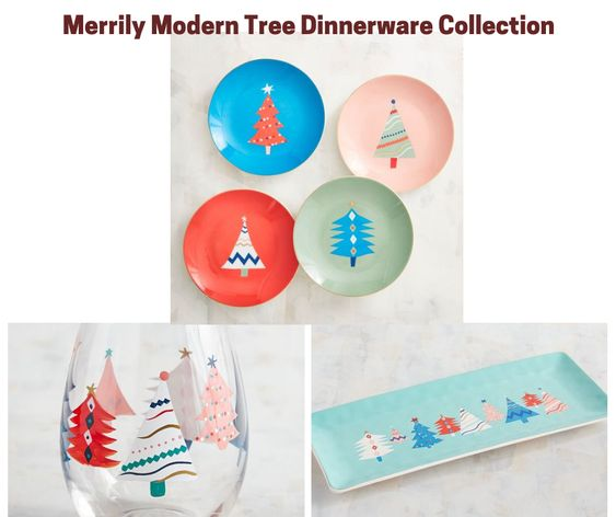 Merrily Modern Christmas Dinnerware Collection