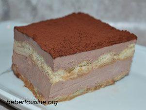 bavarois tiramisu au chocolat pr 233 paration 10mn ingr 233 dients 2 pots de cr 232 me de dessert au
