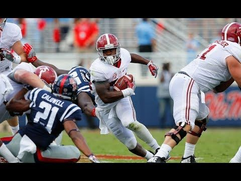 Damien Harris Is Being Overshadowed By His Rb Teammate Josh Jacobs In The Lead Up To The 2019 Nfl Draft But Mfst Tells You Why It Is Harris Who Will Be Ole