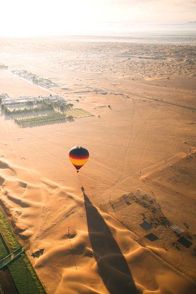 Paseo en Globo Aerostático por el desierto, Dubai