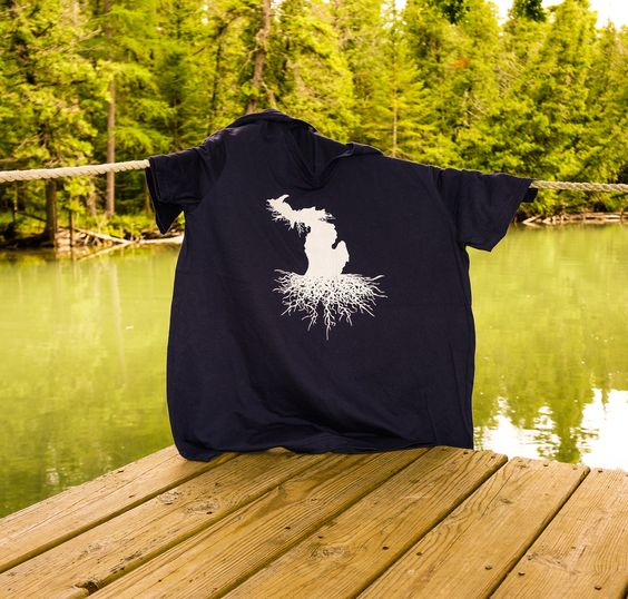 Michigan Roots apparel available @ www.downwithdetroit.com
